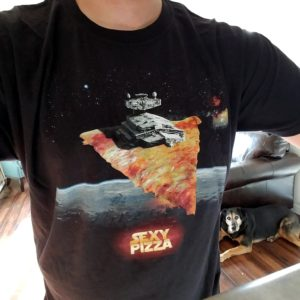 pizza star wars tee